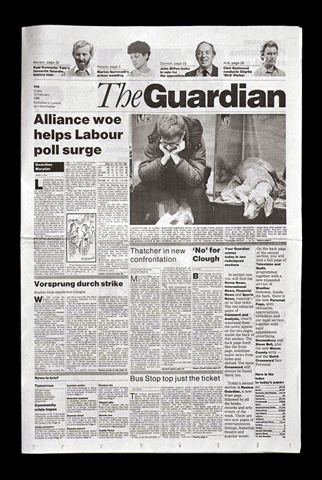 The Guardian (newspaper redesign, 1988)
