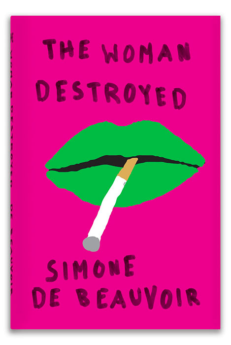 The Woman Destroyed (book cover)