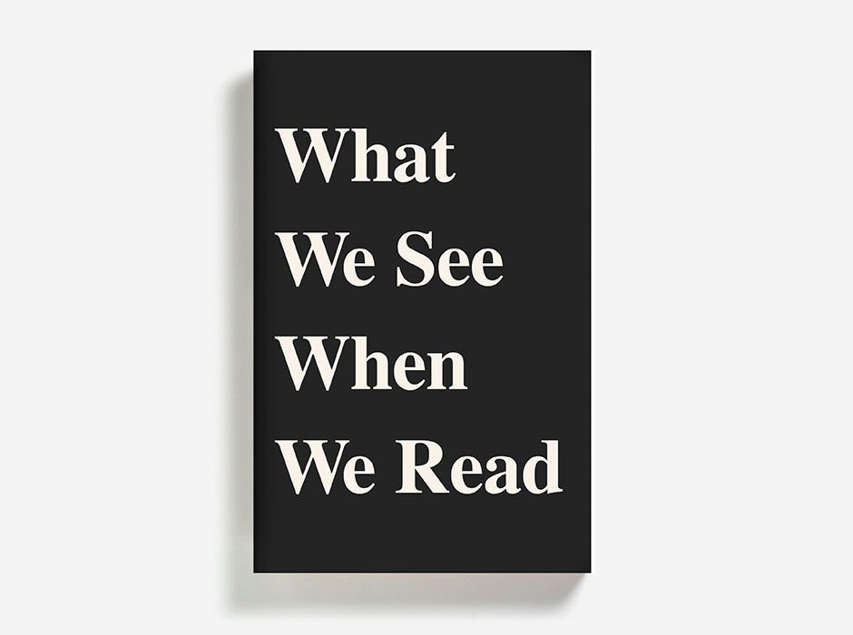 What We See When We Read (book, 2014)