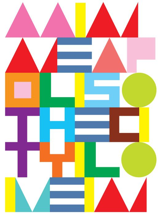 The City I Live In (poster, 2013)