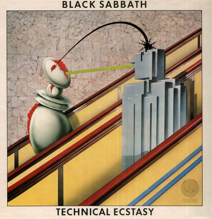 Technical Ecstacy (album cover, 1976)