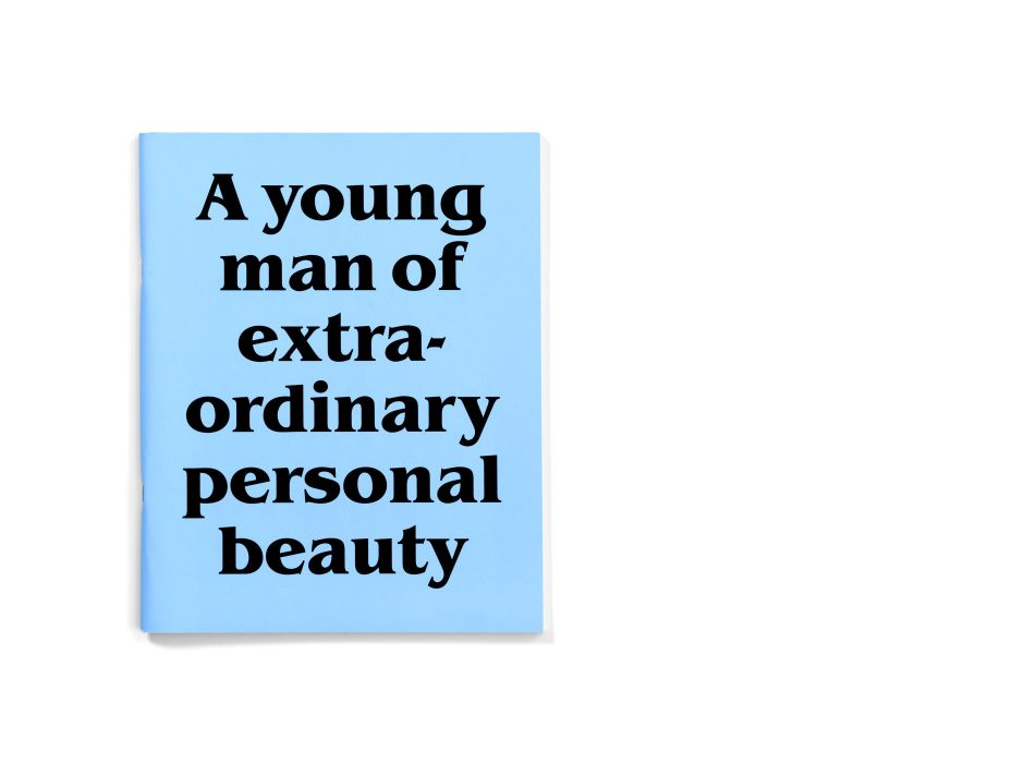 A Young Man of Extraordinary Personal Beauty