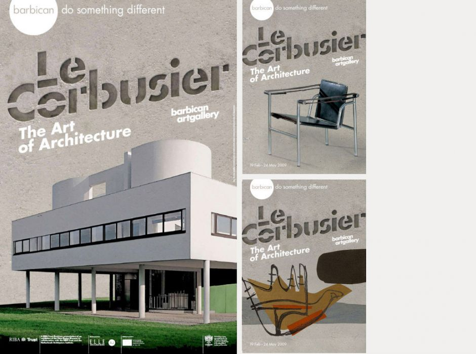 Le Corbusier, The Art of Architecture (poster, 2009)